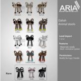 [ARIA] Daliah animal stool -Goat- Elegant - RARE