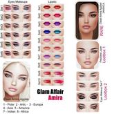 Glam Affair - Amira Lipstick  for Catwa Heads - SET 4