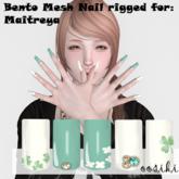 <ooSiki>Bento Nail // clover (gift)