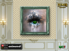 GREEN EYE :: Animated Wall Picture