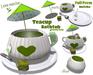 [ FULL PERM ] Teacup Bathtub / Matcha