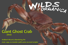 [ WoO ] Giant Ghost Crab (Red)
