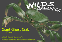[ WoO ] Giant Ghost Crab (Green)