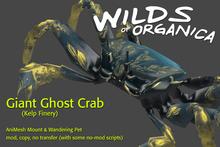 [ WoO ] Giant Ghost Crab (Kelp Finery)