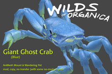 [ WoO ] Giant Ghost Crab (Blue)