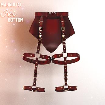 Magnoliac - Koi Bottom Red (Single)