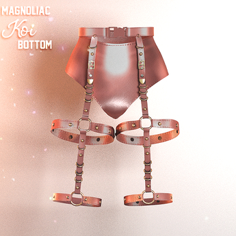 Magnoliac - Koi Bottom Pink (Single)
