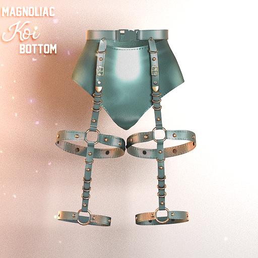 Magnoliac - Koi Bottom Blue (Single)