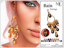 ME Rain Earrings v2 (Boxed. Wear me)