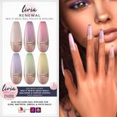 LIVIA // Mix It Polish & Nail Appliers - Renewal *PROMO*