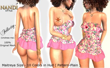 [Nandi Style]-  Bag Dress Felicity (Undress me).