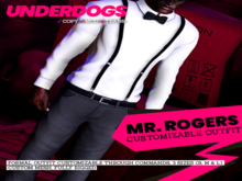 [UnderDogs] - Mister Rogers Outfit - MASTERPACK - Mesh