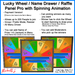 Lucky Wheel - Name Drawer Panel Pro (Metal Frame Pack) - Payment / Event Version