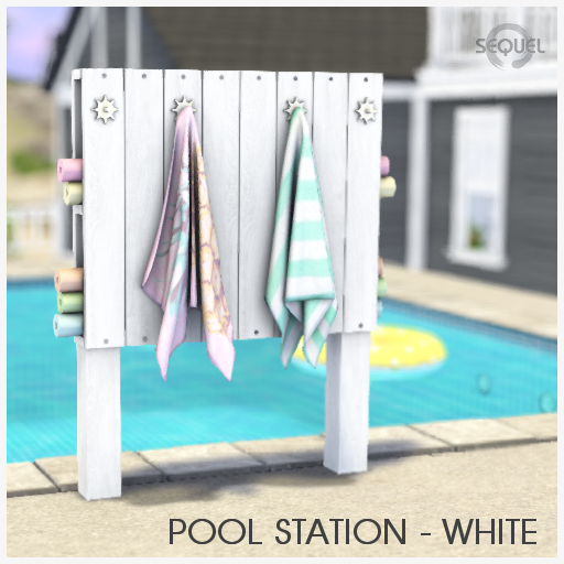 Sequel - Pool Station - White