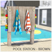 Sequel - Pool Station - Brown