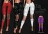 [[ Masoom ]] Tia Pants-Purple-Meshbody Classic, Legacy Perky, Legacy Original, Lara, Freya & Hourglass