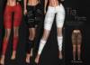 [[ Masoom ]] Tia Pants-Choco-Meshbody Classic, Legacy Perky, Legacy Original, Lara, Freya & Hourglass