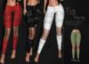 [[ Masoom ]] Tia Pants-Olive-Meshbody Classic, Legacy Perky, Legacy Original, Lara, Freya & Hourglass