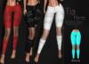 [[ Masoom ]] Tia Pants-Aqua-Meshbody Classic, Legacy Perky, Legacy Original, Lara, Freya & Hourglass