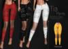 [[ Masoom ]] Tia Pants-Yellow-Meshbody Classic, Legacy Perky, Legacy Original, Lara, Freya & Hourglass