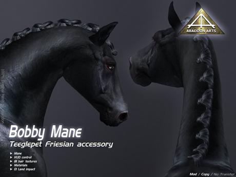 ABADDON ARTS - Bobby Mane [Teeglepet Friesian]
