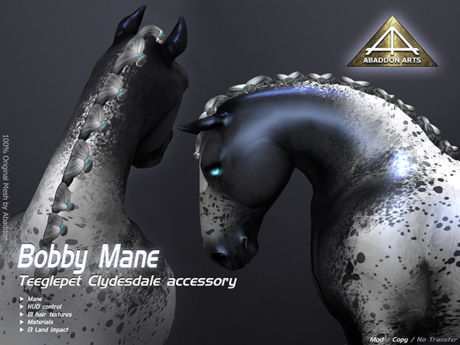ABADDON ARTS - Bobby Mane [Teeglepet Clydesdale]