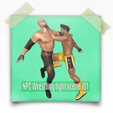 NPC Wrestling fight scene J01