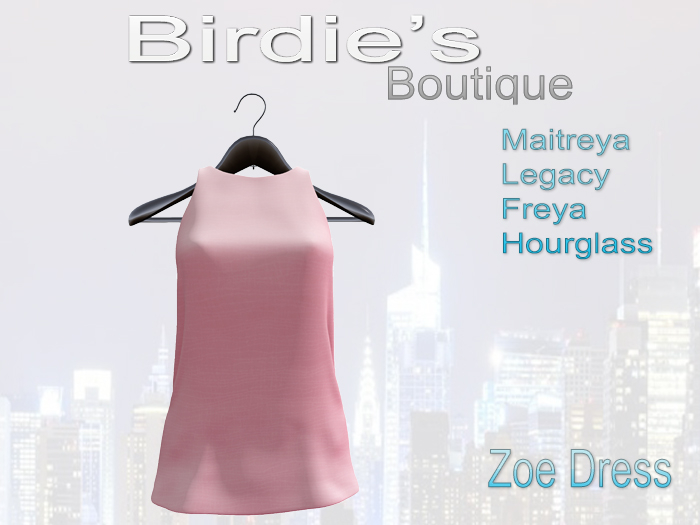 Birdie's Boutique - Zoe Dress - Pink