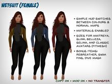 [S2S] Wetsuit (Female)
