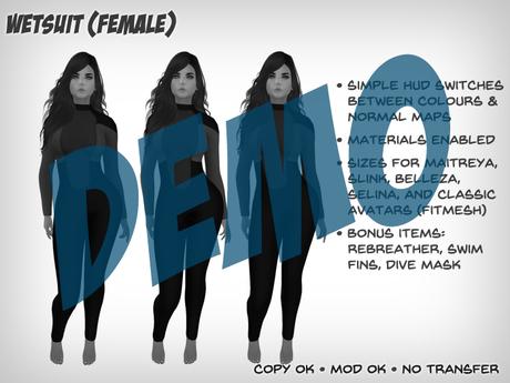 Wetsuit (Female) - DEMO
