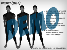 Wetsuit (Male) - DEMO