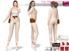 WEEKENDSALE 4in1 Full Perm High Waist Pants Tank Top Jacket Bag Outfit For Maitreya Slink Belleza Tonic Ocacin Classic
