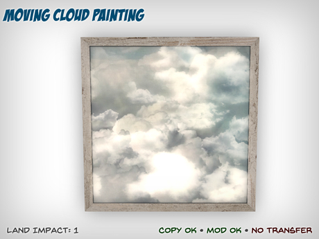 Moving Cloud Painting