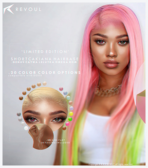 REVOUL - Shortcakiana Hairbase <3 (add me)
