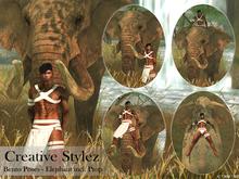 Creative Stylez - Bento Poses - Elefant -