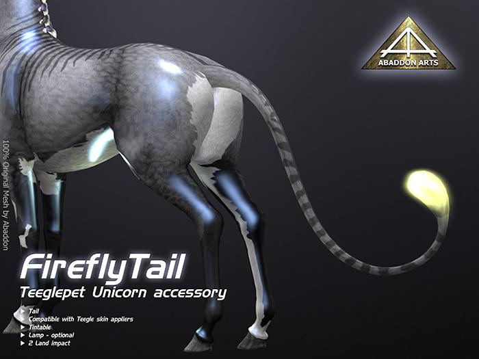 ABADDON ARTS - Firefly [Teeglepet Unicorn]
