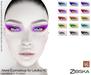 Zibska ~ Alene Eyemakeup in 15 colors for Lelutka HD