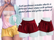 Lunar - Rumi Shorts w/ Phone - Scarlet Red (Boxed)