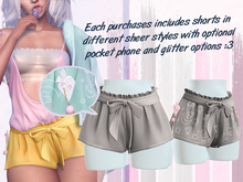 Lunar - Rumi Shorts w/ Phone - Grey