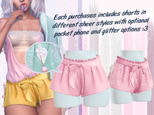 Lunar - Rumi Shorts w/ Phone - Bubblegum Pink