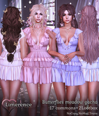 #1 {Limerence} Florence hair-B&W