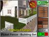 Picket Fence - Building Set