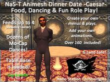 NaS-T Animesh Dinner Date Table  -Caesar- M-1-G
