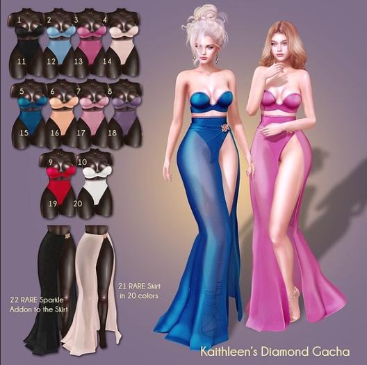 5 Kaithleen's Diamond Gacha - Mint Legacy Perky Bra