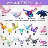 SEmotion Libellune Flying Elephant Animesh #14