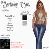 CnK - Berkeley Set - Blues  (Boxed)