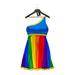 * Harmonia Adelle Pride Blue Dress - Maitreya Slink STAR TMP