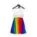 * Harmonia Adelle Pride White Dress - Maitreya Slink STAR TMP