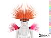 Zibska ~ Oberon Color change headpiece and shoulders