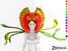 Zibska ~ Dionaea Color Change Collar and Shoulders